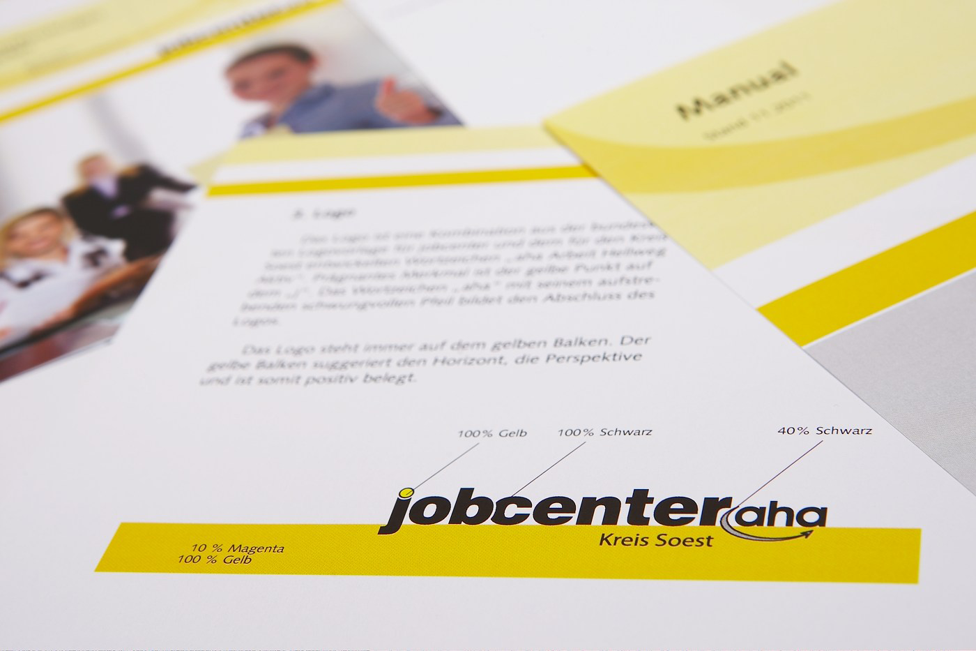 Corporate Design für Jobcenter