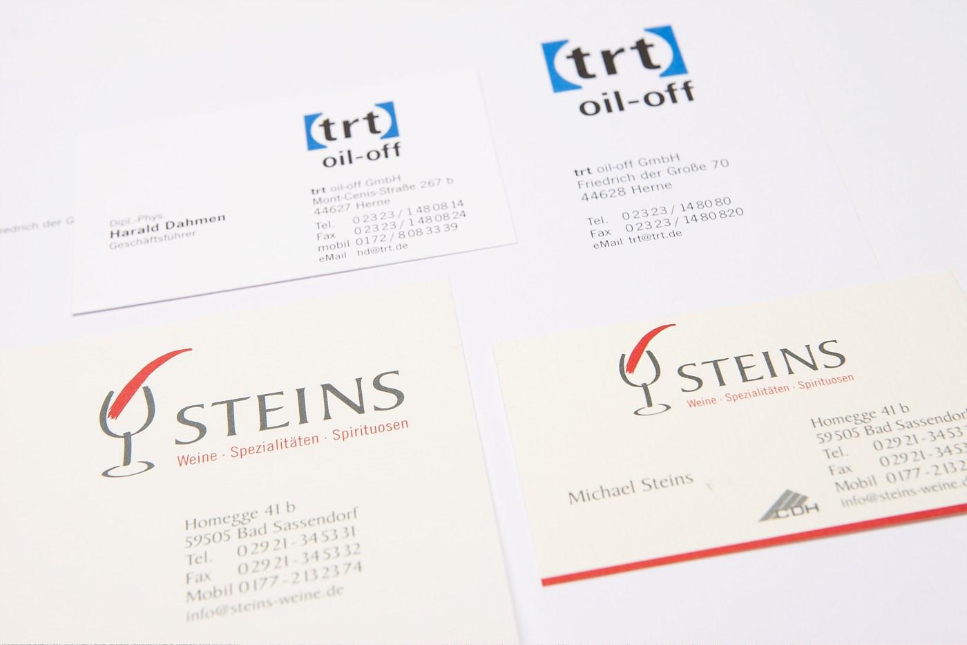 Logo und Geschäftspapiere